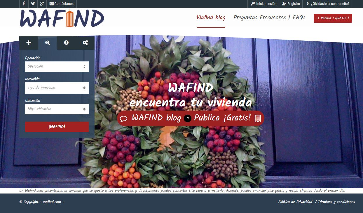 El portal inmobiliario wafind com for El portal inmobiliaria